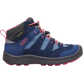 Keen Hikeport Mid WP Chaussures Enfant, dress blues/sugar coral